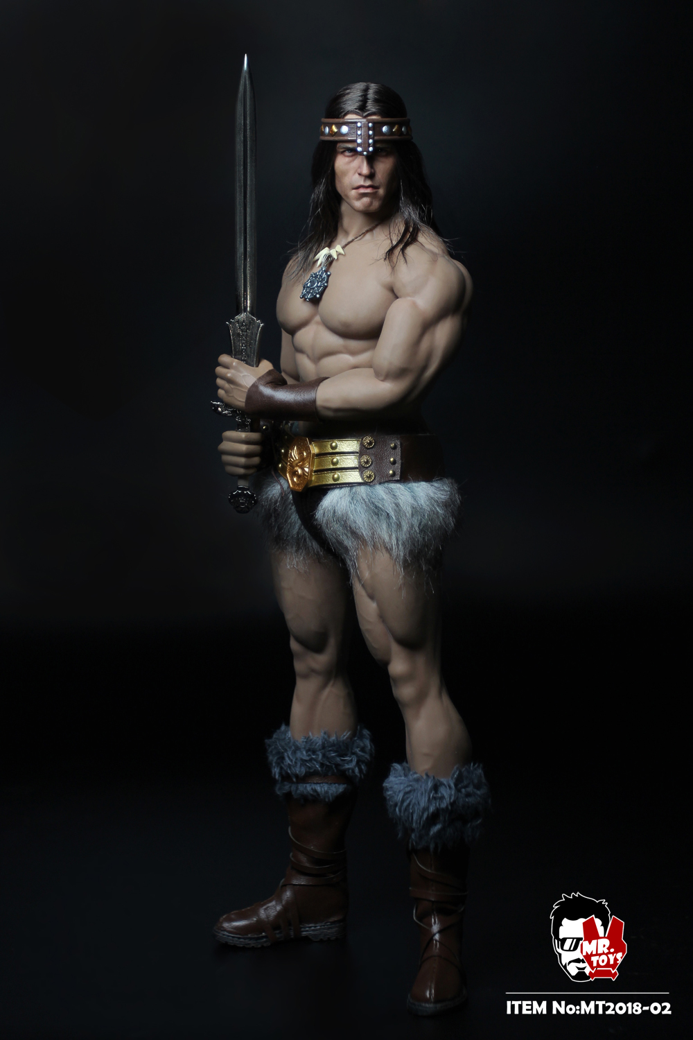 NEW PRODUCT:  Mr. Toys MT2018-02 1/6 Conan head carving costume set O1cn0117