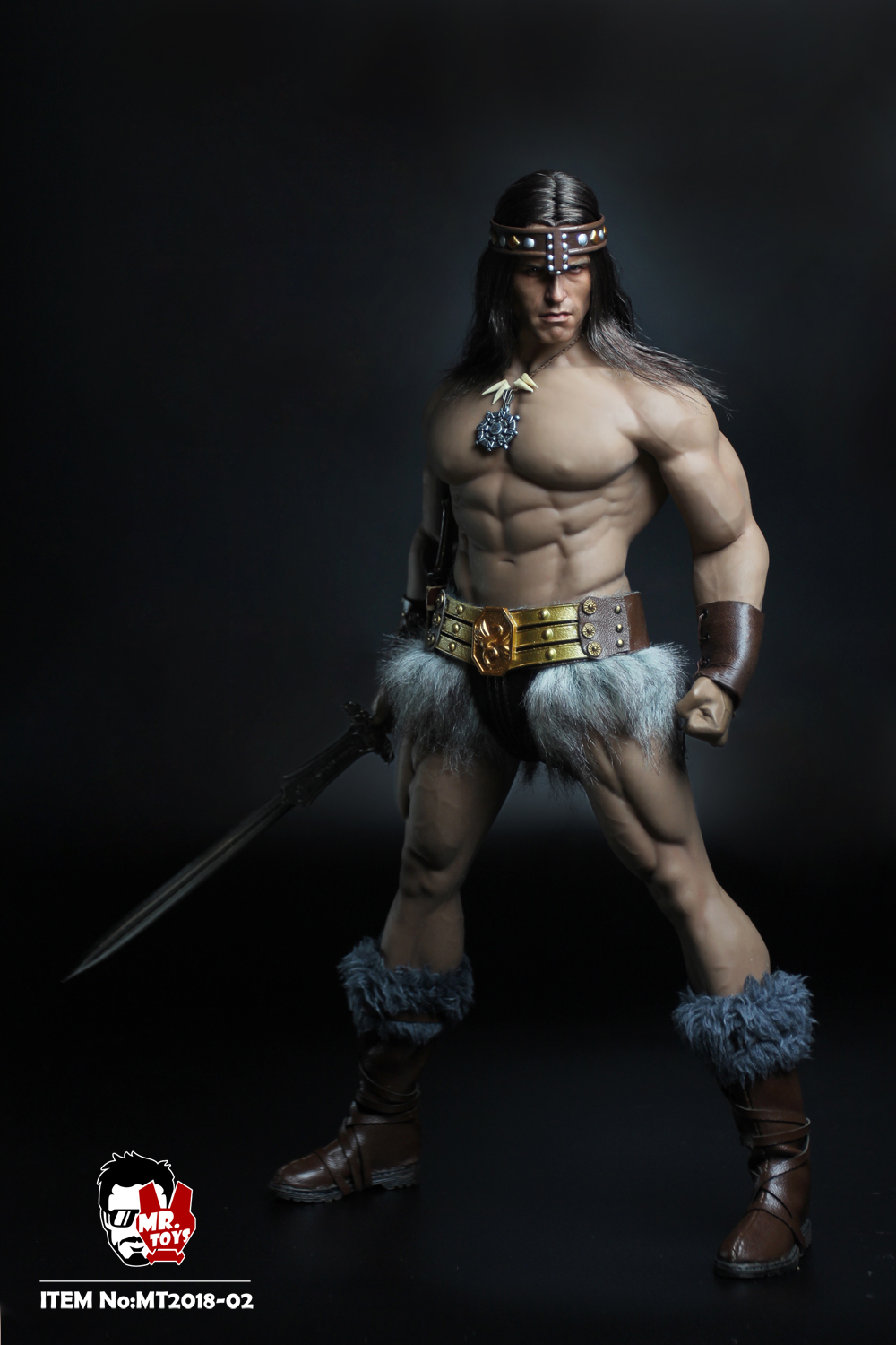 NEW PRODUCT:  Mr. Toys MT2018-02 1/6 Conan head carving costume set O1cn0118