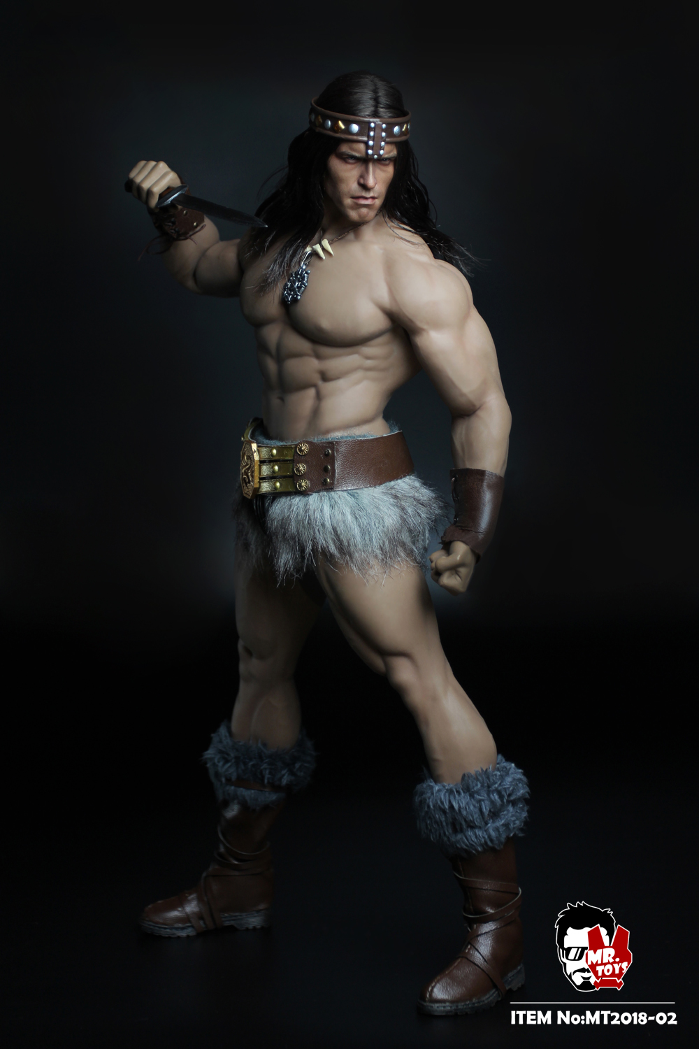 NEW PRODUCT:  Mr. Toys MT2018-02 1/6 Conan head carving costume set O1cn0119