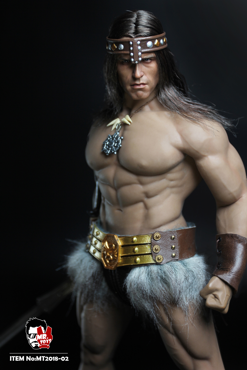 NEW PRODUCT:  Mr. Toys MT2018-02 1/6 Conan head carving costume set O1cn0121