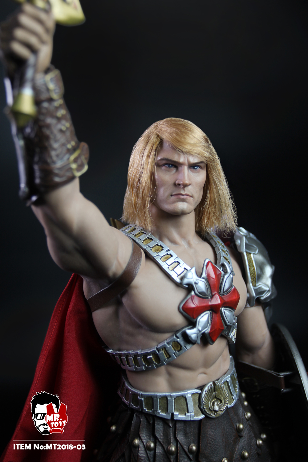 NEW PRODUCT: Mr. Toys MT2018-03 1/6 He-Man head carving costume set O1cn0122