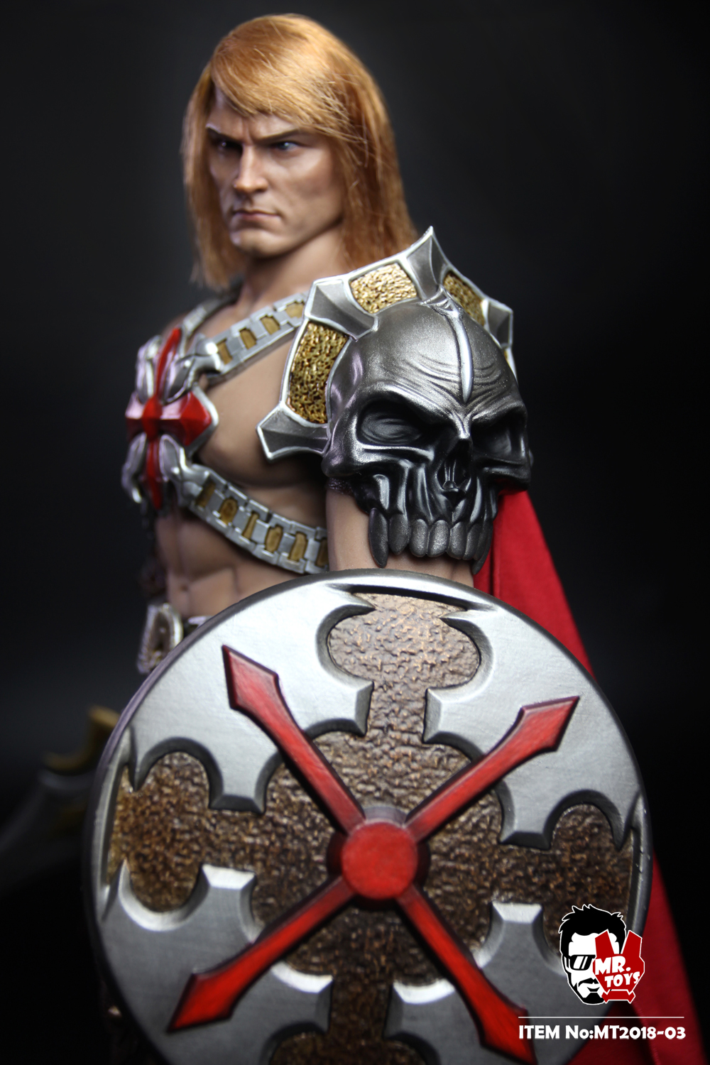NEW PRODUCT: Mr. Toys MT2018-03 1/6 He-Man head carving costume set O1cn0124