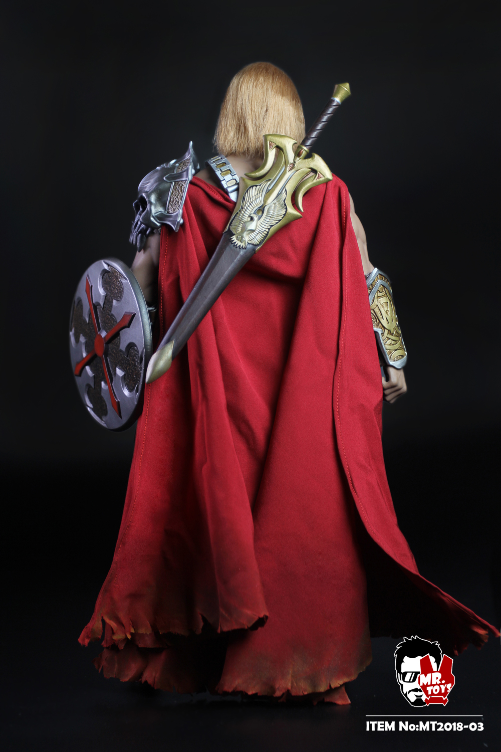 NEW PRODUCT: Mr. Toys MT2018-03 1/6 He-Man head carving costume set O1cn0125