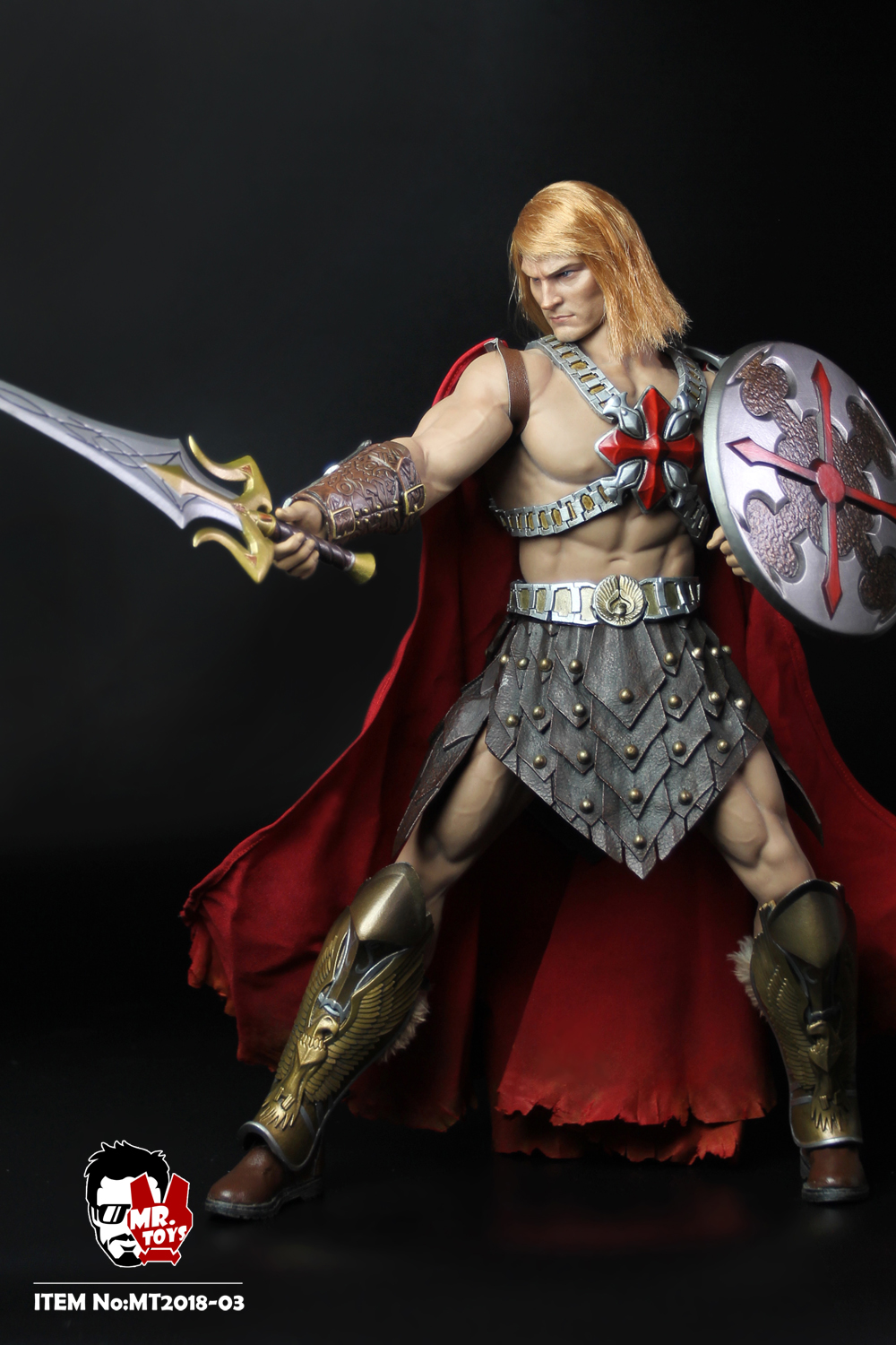 NEW PRODUCT: Mr. Toys MT2018-03 1/6 He-Man head carving costume set O1cn0126