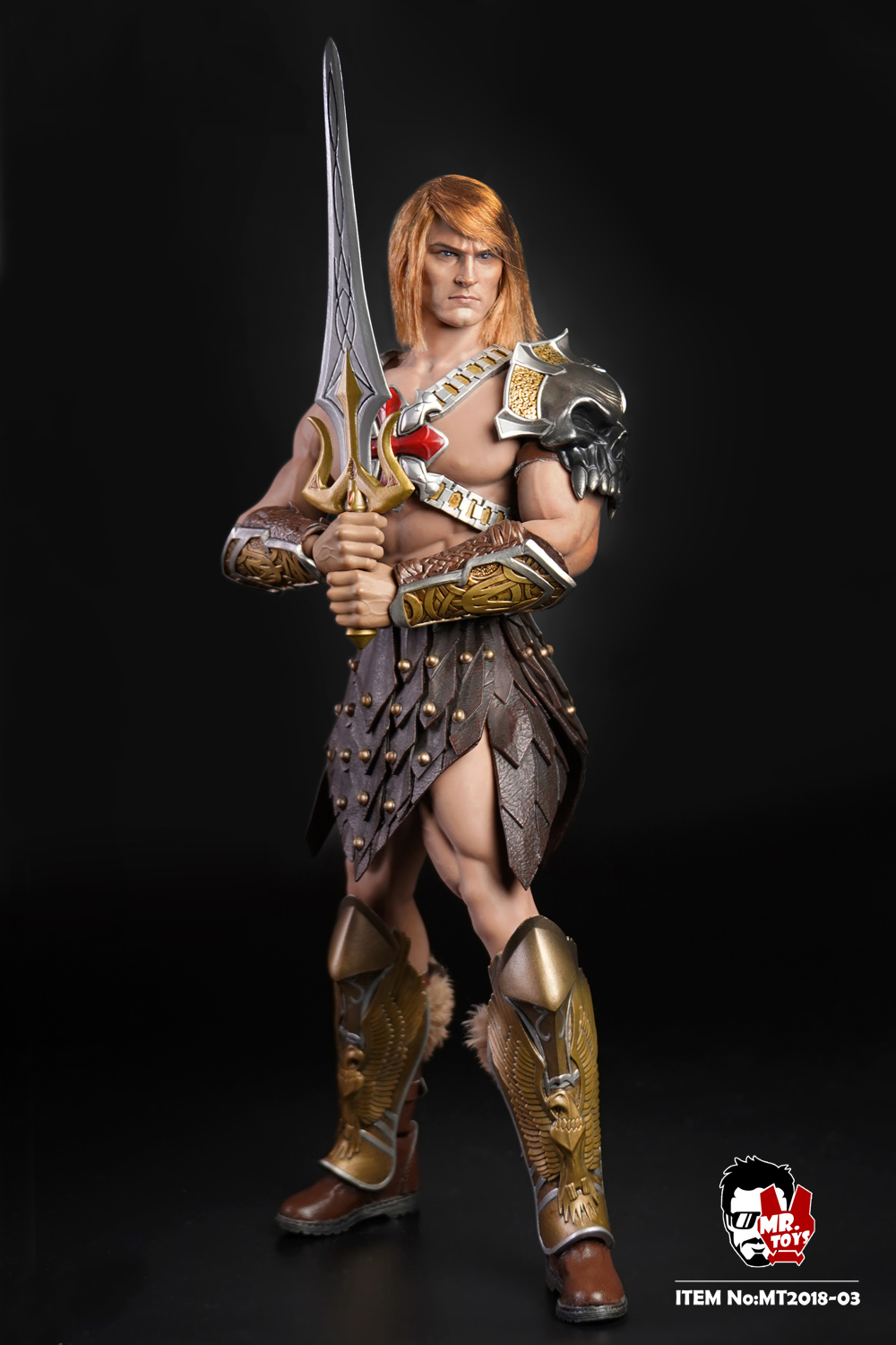 NEW PRODUCT: Mr. Toys MT2018-03 1/6 He-Man head carving costume set O1cn0128