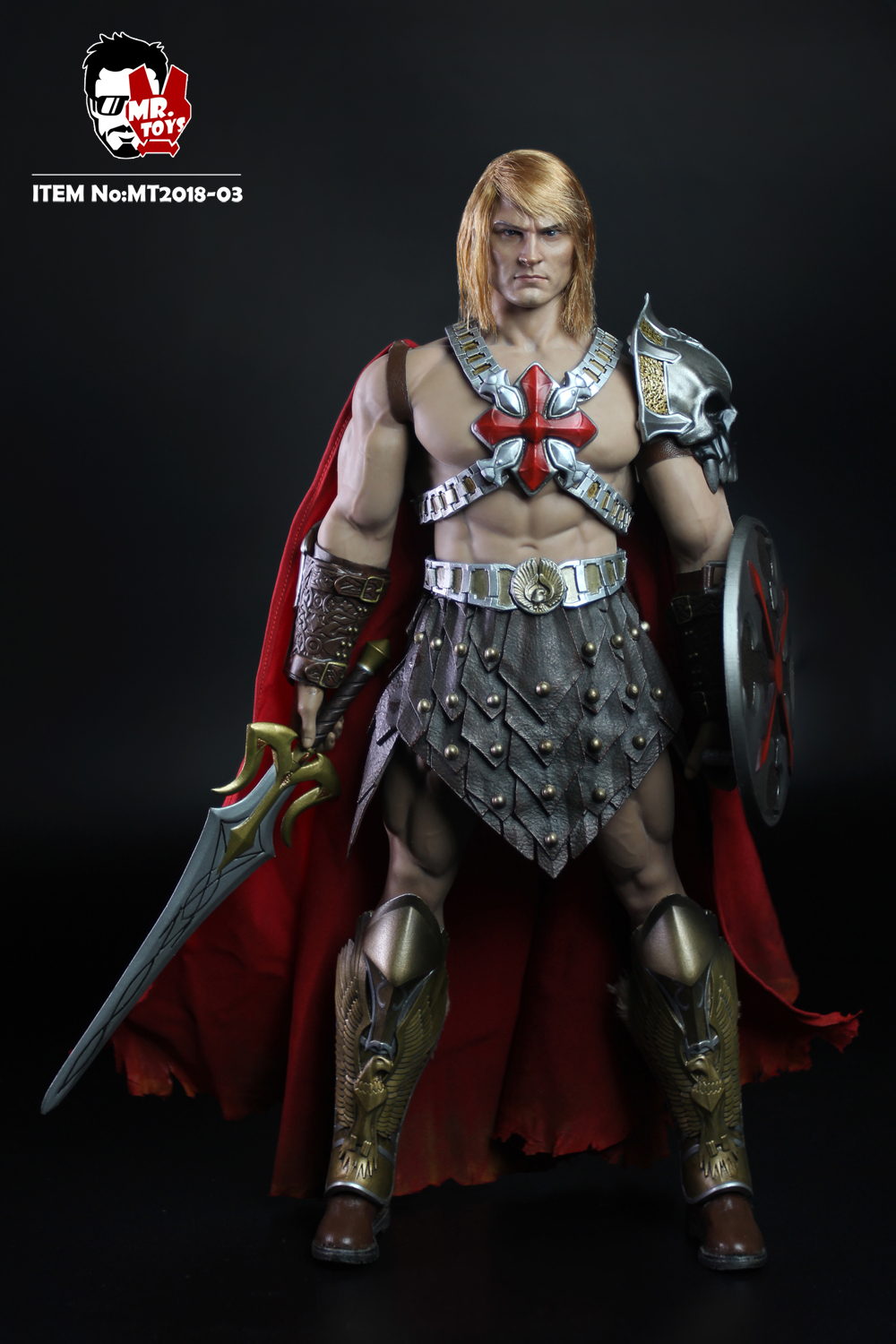 NEW PRODUCT: Mr. Toys MT2018-03 1/6 He-Man head carving costume set O1cn0130