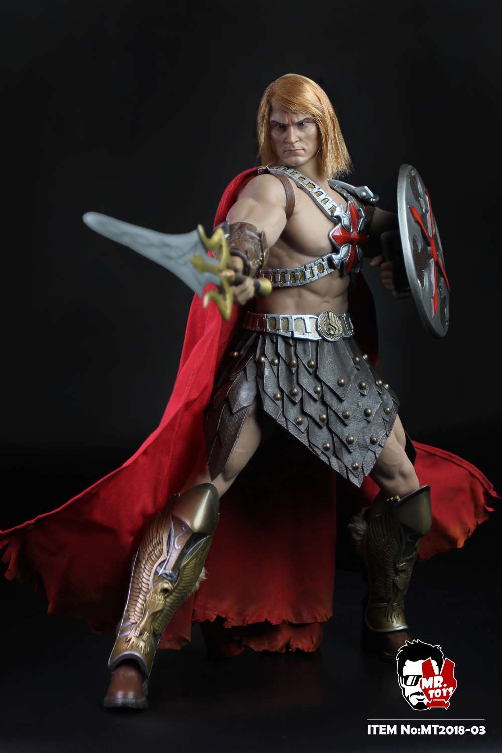 NEW PRODUCT: Mr. Toys MT2018-03 1/6 He-Man head carving costume set O1cn0131