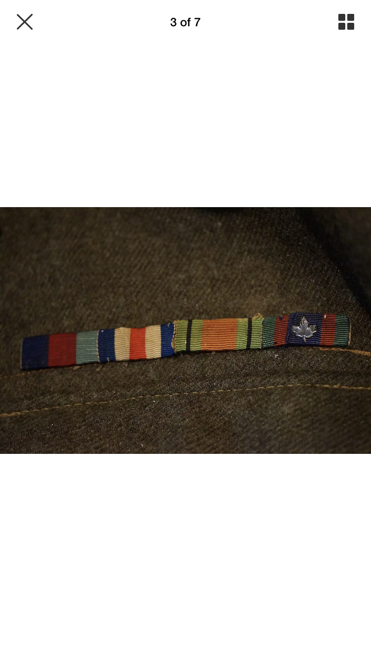 WWII Battle Dress 2nd Division 5th RCA B9dfbc10