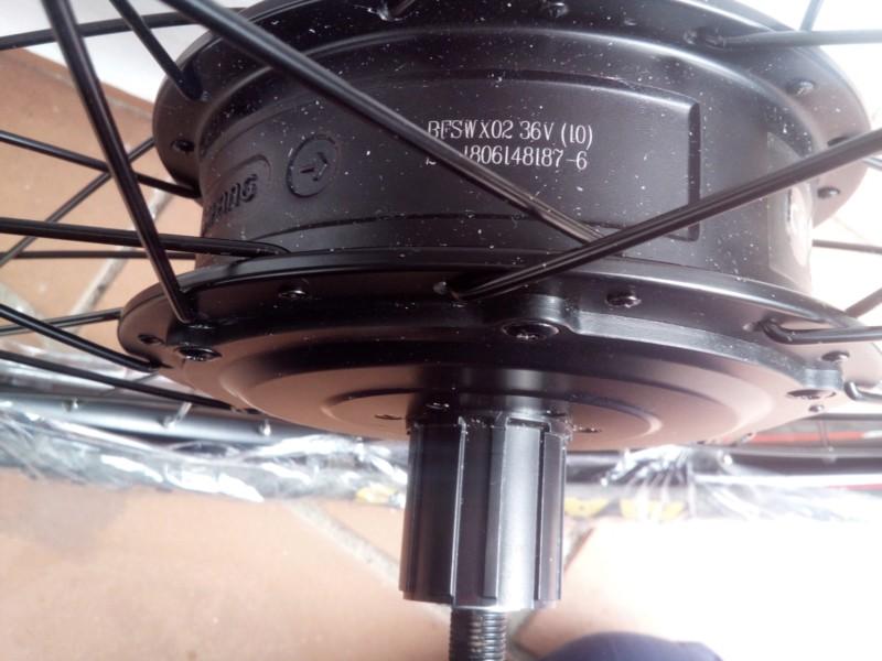 Electrificar bicicleta Trek 6000 (año 2012). 20190113