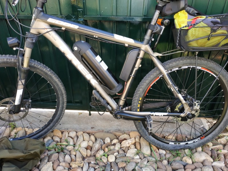 Electrificar bicicleta Trek 6000 (año 2012). 20190312