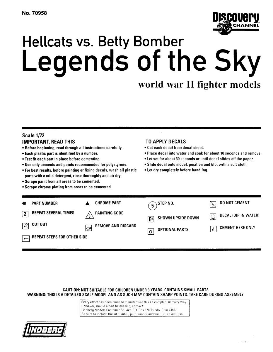 Multi-présentations LINDBERG série Legends of the Sky 1/72ème  100_0615