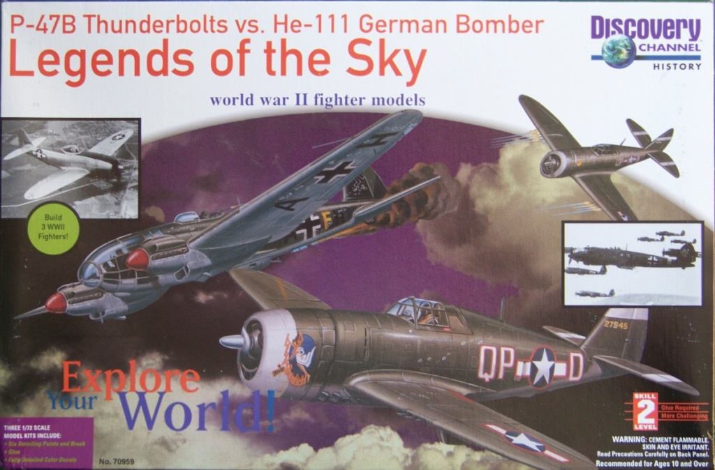 Multi-présentations LINDBERG série Legends of the Sky 1/72ème  100_0622