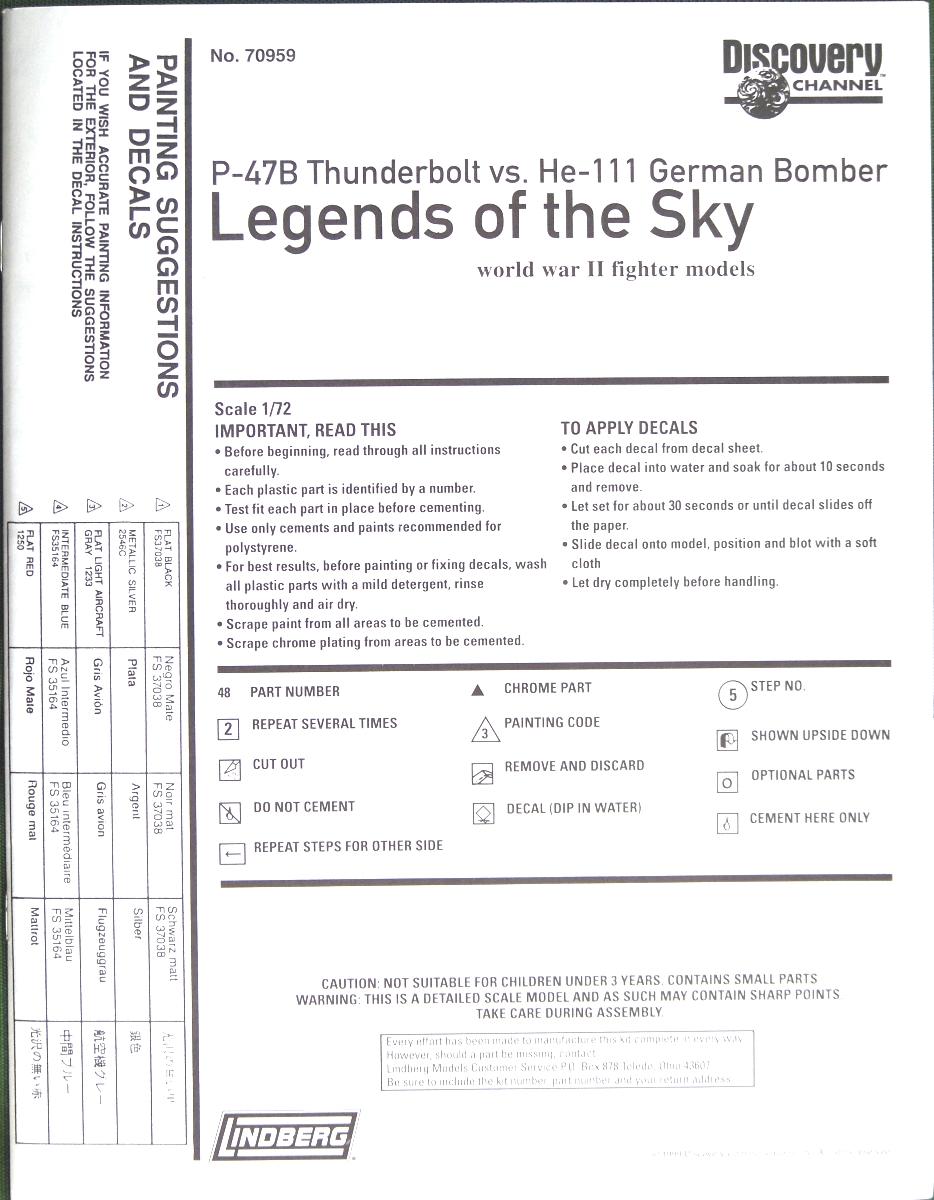 Multi-présentations LINDBERG série Legends of the Sky 1/72ème  100_0626