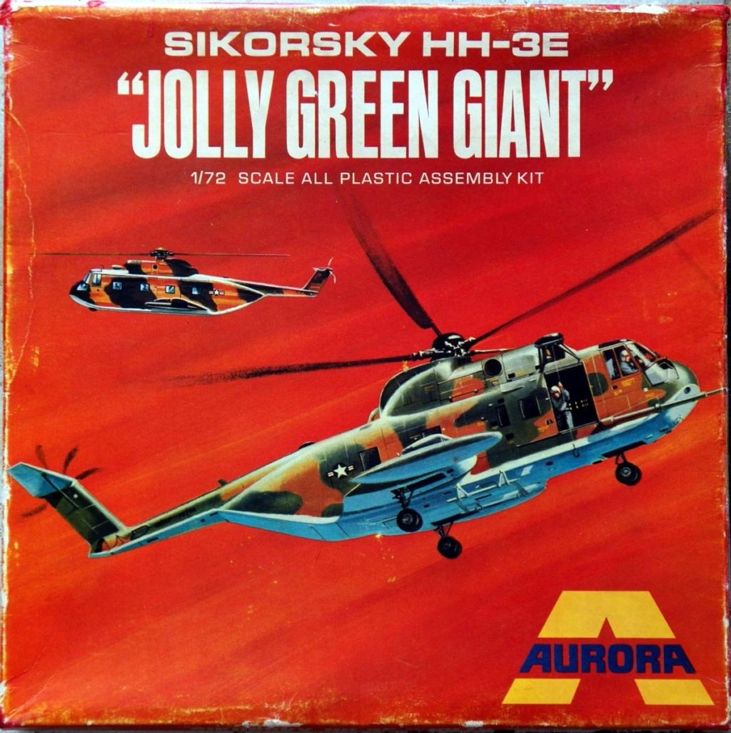 [AURORA] SIKORSKY HH-3E JOLLY GREEN GIANT 1/72ème Réf 505 100_9111