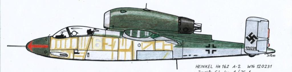 "He162 A-2  Salamander   Tamiya 1/48  -  ""montage  usine  avant peinture""   - Page 2 2011-011"