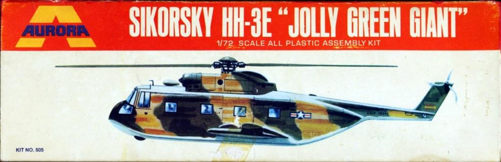 [AURORA] SIKORSKY HH-3E JOLLY GREEN GIANT 1/72ème Réf 505 Hh-3e_10