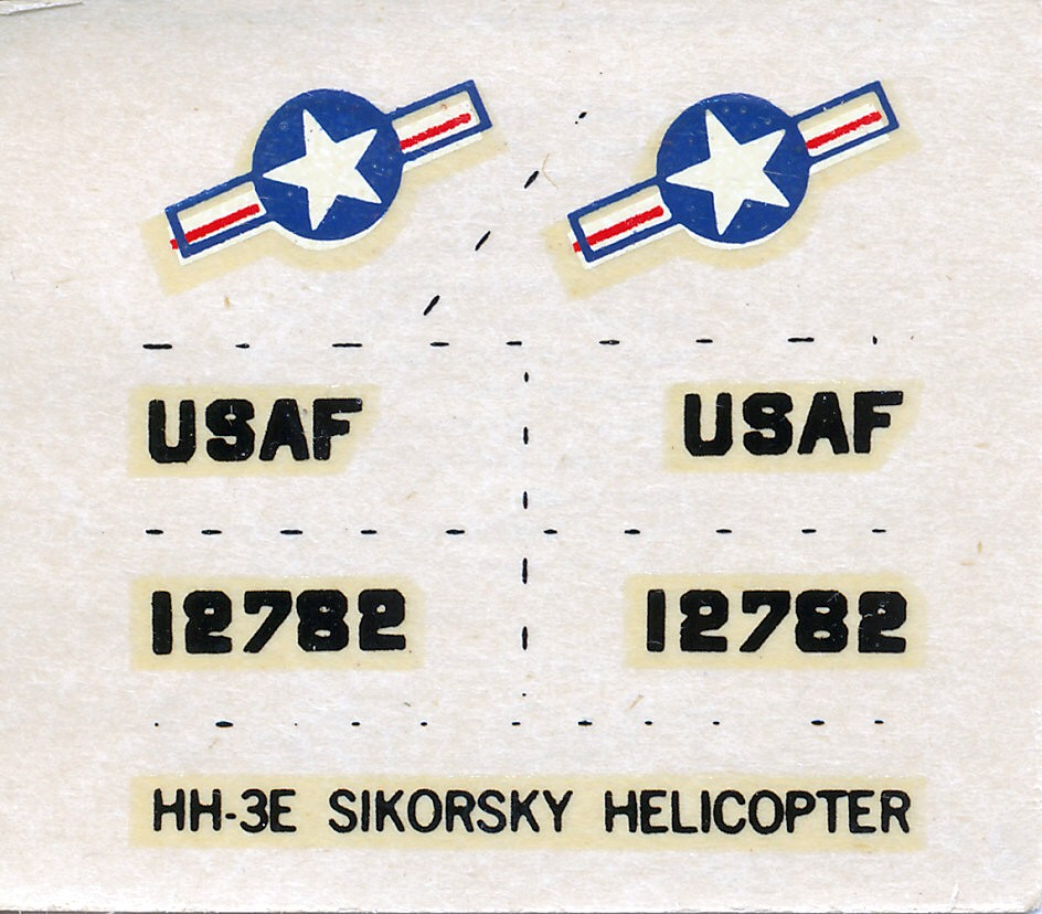 [AURORA] SIKORSKY HH-3E JOLLY GREEN GIANT 1/72ème Réf 505 Hh-3e_18