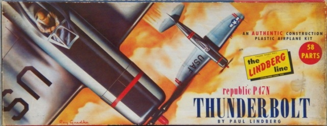 Republic P-47N-1-RE Thunderbolt, Lindberg, 1/48, 1952 Republ12