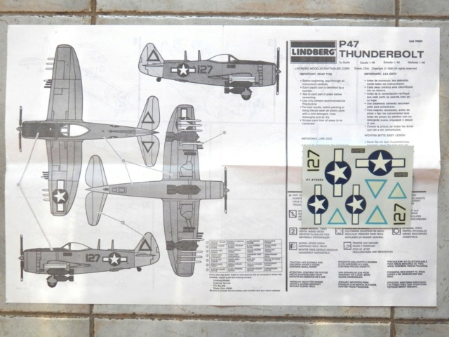 Republic P-47N-1-RE Thunderbolt, Lindberg, 1/48, 1952 Republ14