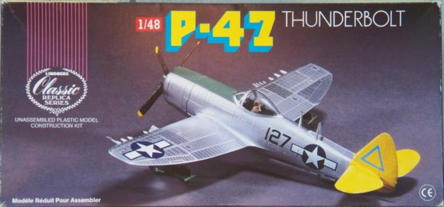 Republic P-47N-1-RE Thunderbolt, Lindberg, 1/48, 1952 Republ15
