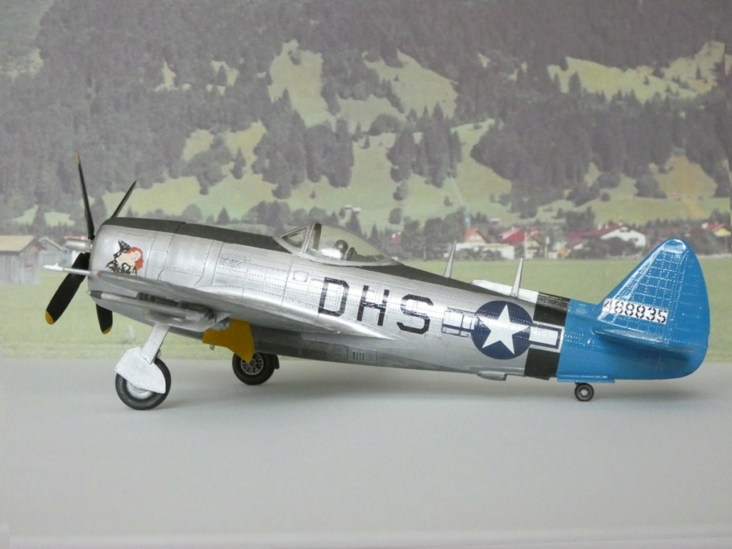 Republic P-47N-1-RE Thunderbolt, Lindberg, 1/48, 1952 Republ41