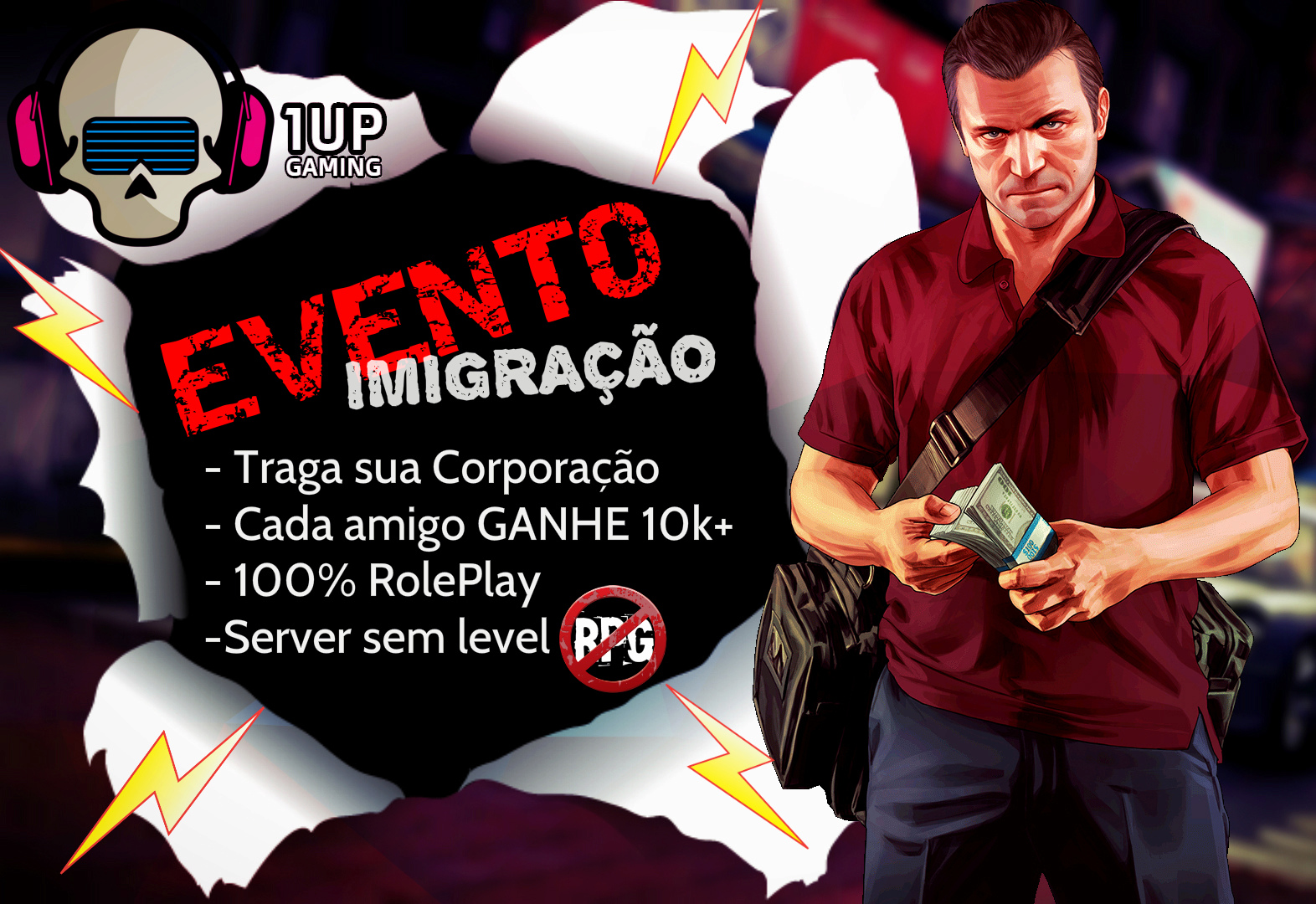 [1Up] EVENTO!! Imigração De Server, Venha para o Nosso Server ♥ [MTA][RolePlay]  42000-10