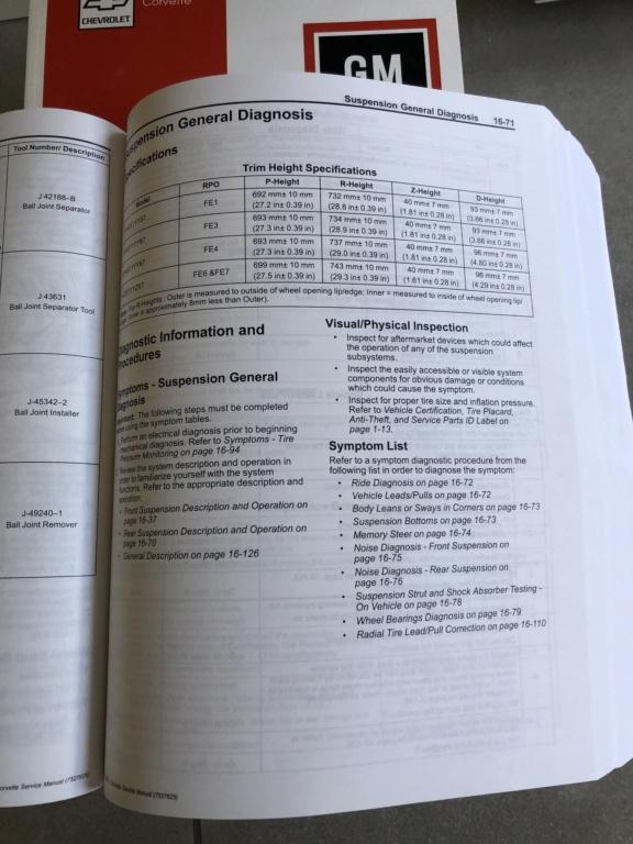 Hauteur caisse GS & Z06 - Page 3 Servic10