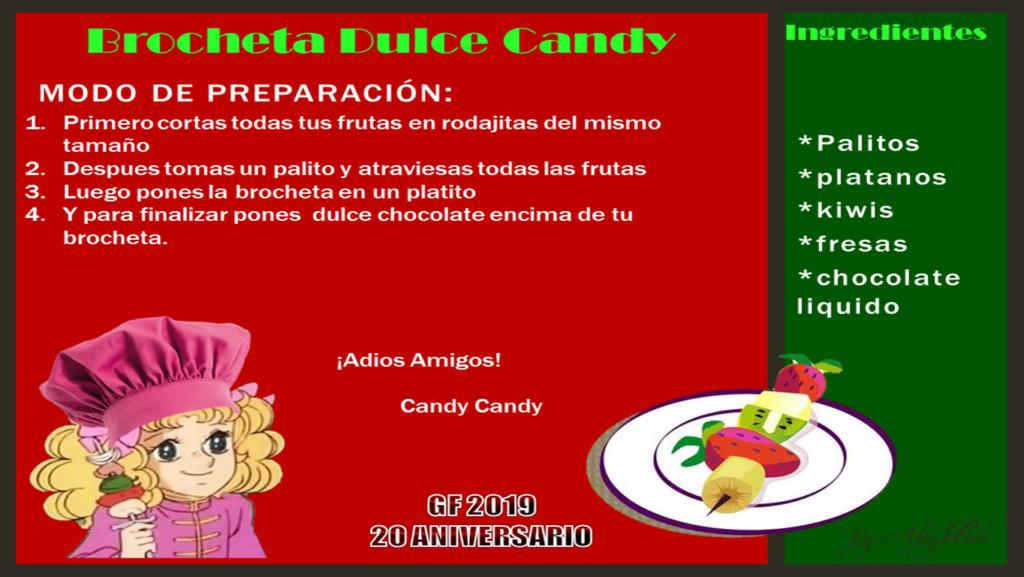 Recetas de cocina BROCHETA DULCE CANDY Broche10