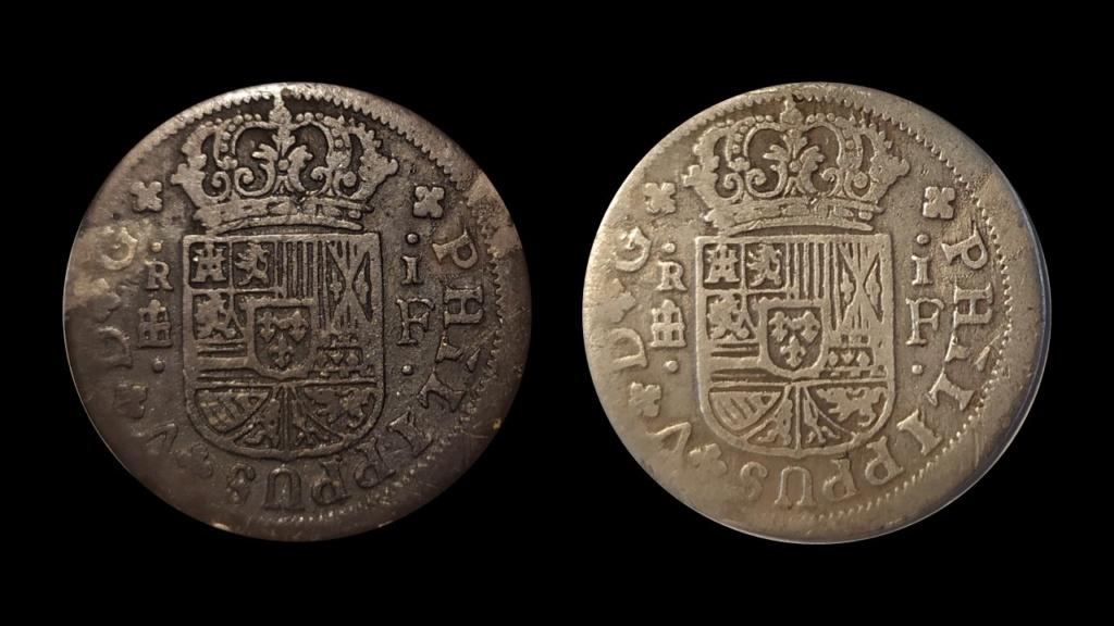 1 real Felipe V, Segovia 1721 Diapos10