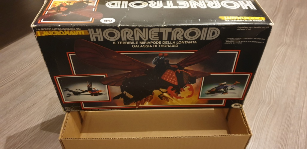 Vendo scatola Hornetroid Micronauti - GIG 20190528