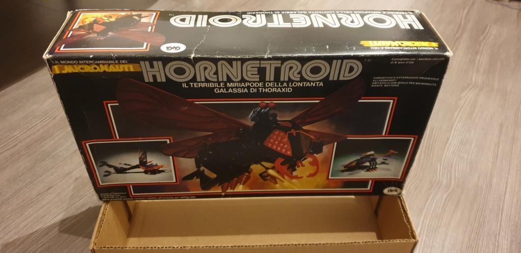 Vendo scatola Hornetroid Micronauti - GIG 20190530
