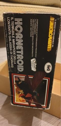 Vendo scatola Hornetroid Micronauti - GIG 20190531