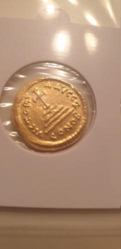 Solido  Tiberius II. Constantin AV-Solidus Constantinopel &  Heraclius + Sohn AV-Solidus Constantinopel 2019-098