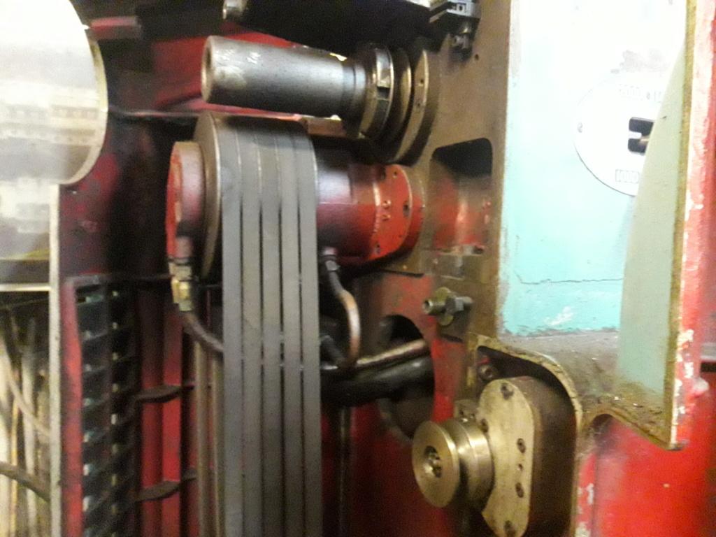 T6 innovation mécanique, Poulie Avance 20190811