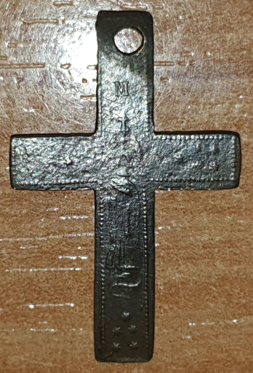Crucifijo bifaz con Inmaculada Concepción, S. XIX Photo_10