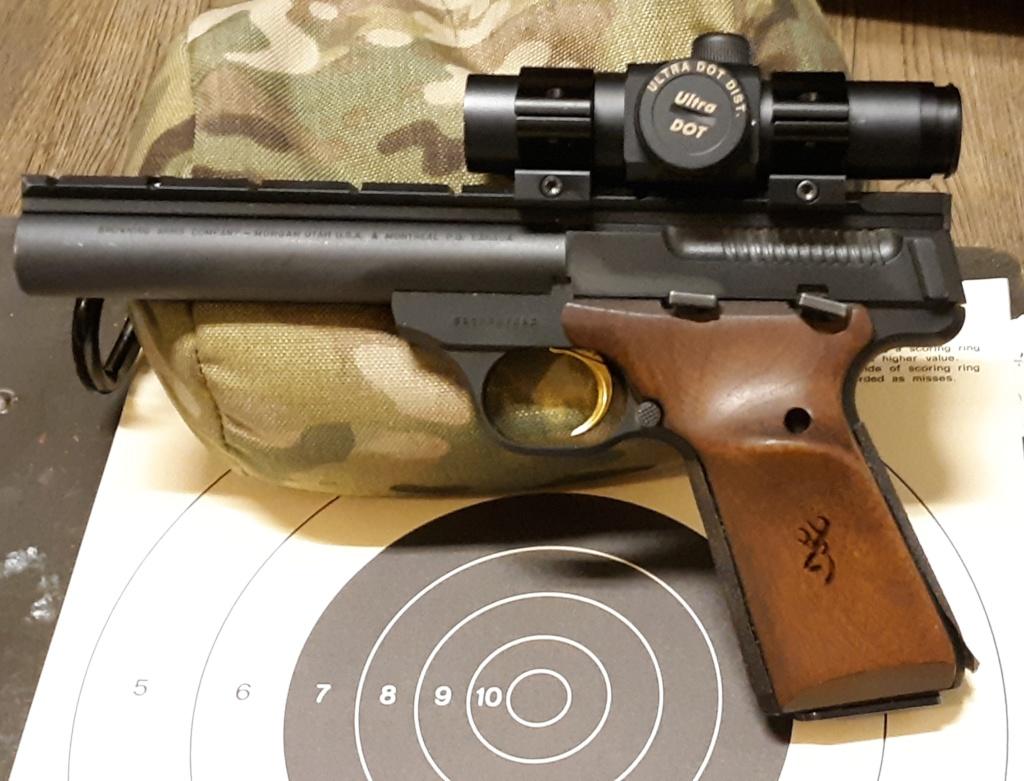 Browning Buck Mark Field Target vs. Ruger Mk IV Target? 20190510