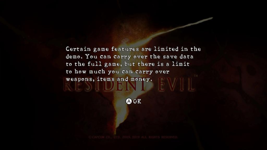 Демоверсии Resident Evil 5 и Resident Evil 6 доступны на Nintendo Switch 20191011