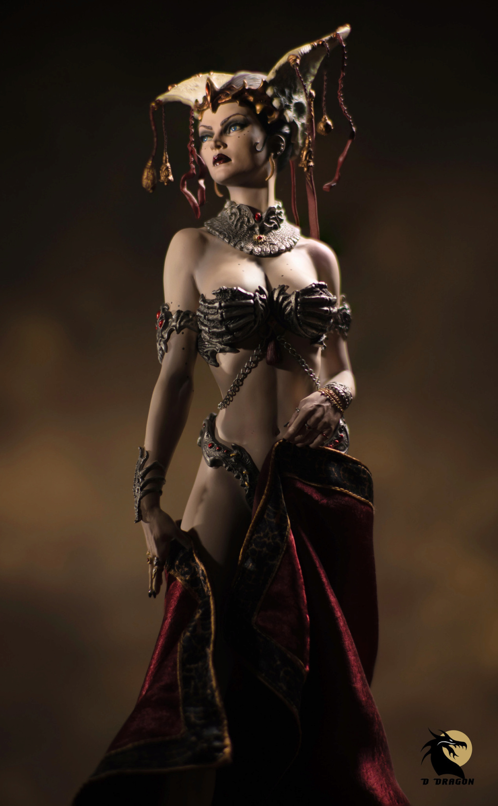 sideshow - NEW PRODUCT: Tbleague x SIDESHOW New: 1/6 Court of the Dead: Gethsemoni The Dead Queen action figure (PL2019-147) Gethse10