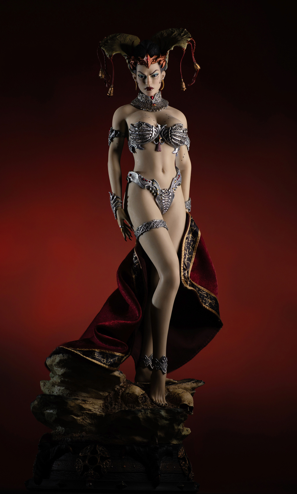 tbleague - NEW PRODUCT: Tbleague x SIDESHOW New: 1/6 Court of the Dead: Gethsemoni The Dead Queen action figure (PL2019-147) - Page 2 Gethse11