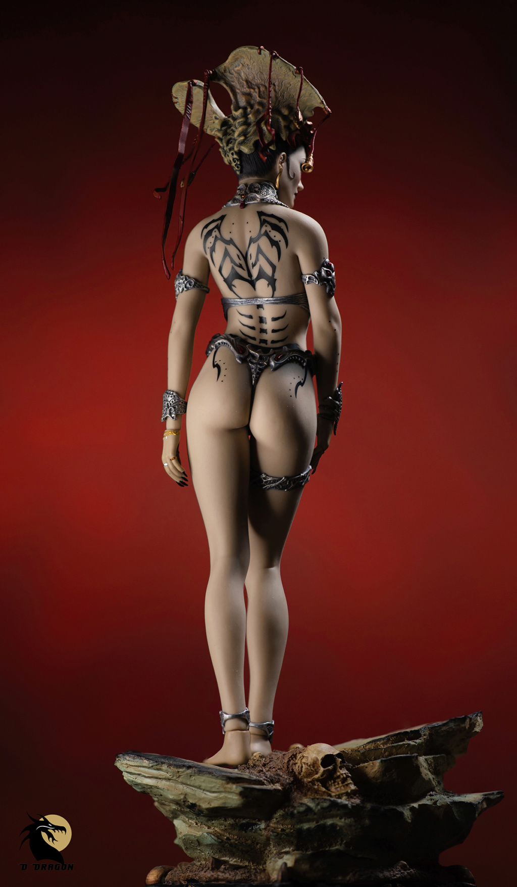 tbleague - NEW PRODUCT: Tbleague x SIDESHOW New: 1/6 Court of the Dead: Gethsemoni The Dead Queen action figure (PL2019-147) - Page 2 Gethse15