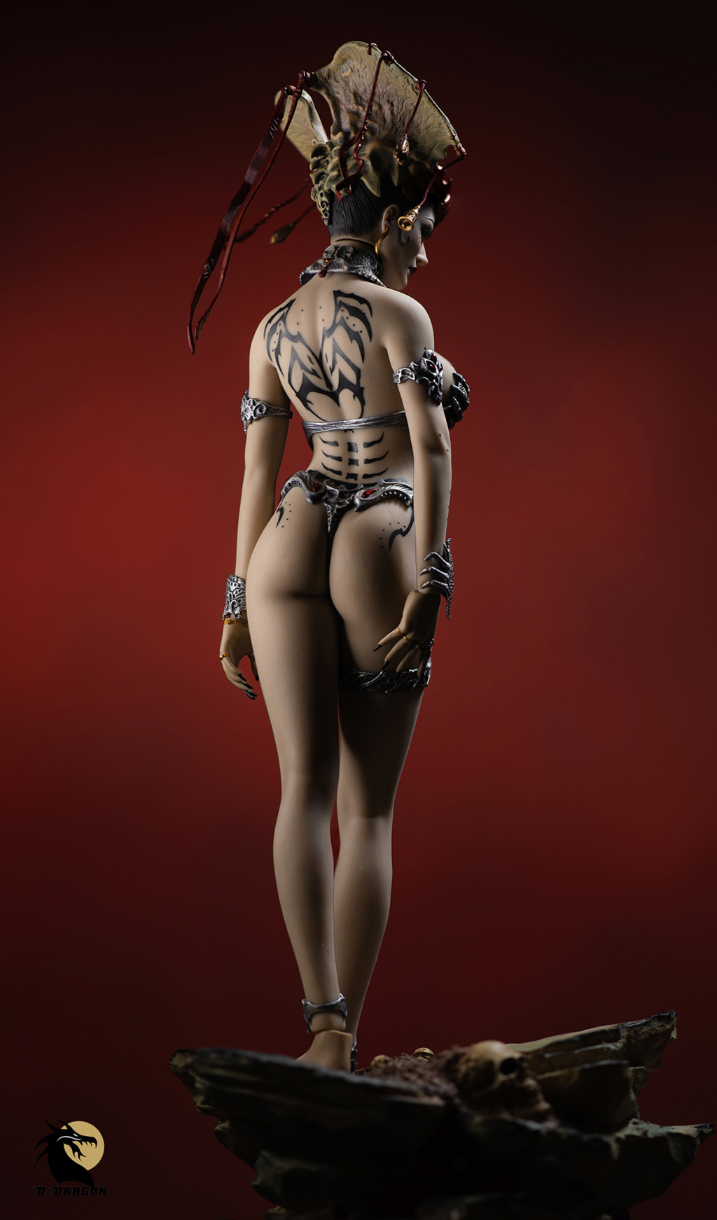 tbleague - NEW PRODUCT: Tbleague x SIDESHOW New: 1/6 Court of the Dead: Gethsemoni The Dead Queen action figure (PL2019-147) - Page 2 Gethse17