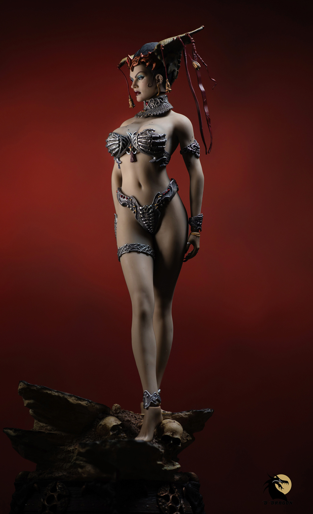 tbleague - NEW PRODUCT: Tbleague x SIDESHOW New: 1/6 Court of the Dead: Gethsemoni The Dead Queen action figure (PL2019-147) - Page 2 Gethse23