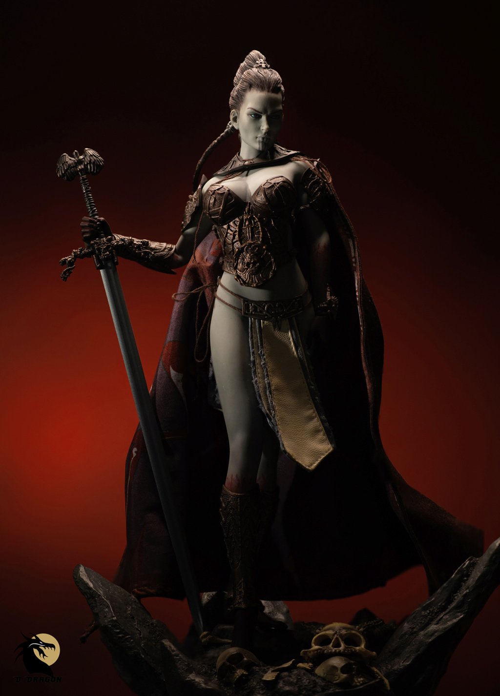 tbleague - NEW PRODUCT: TBLeague & Sideshow: 1/6 Court of the Dead - Valkyrie Cole / Kier movable doll (PL2019-141) Kier_111