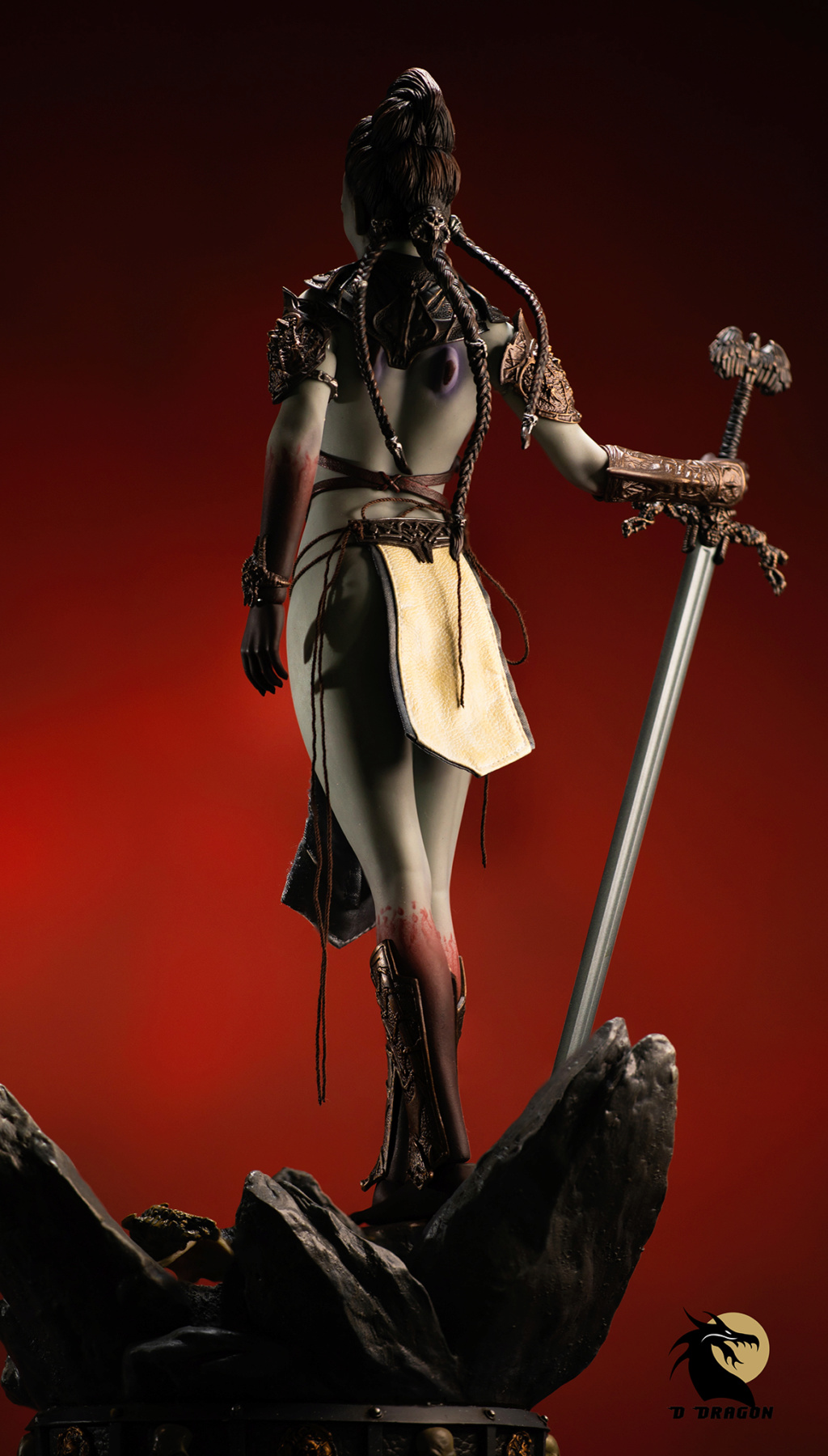 tbleague - NEW PRODUCT: TBLeague & Sideshow: 1/6 Court of the Dead - Valkyrie Cole / Kier movable doll (PL2019-141) Kier_310