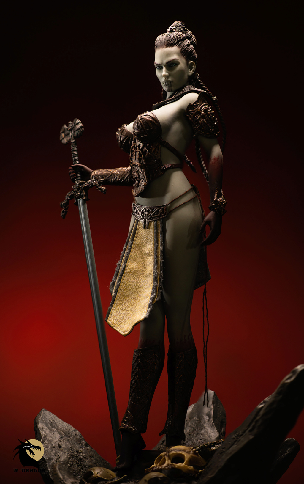 tbleague - NEW PRODUCT: TBLeague & Sideshow: 1/6 Court of the Dead - Valkyrie Cole / Kier movable doll (PL2019-141) Kier_510