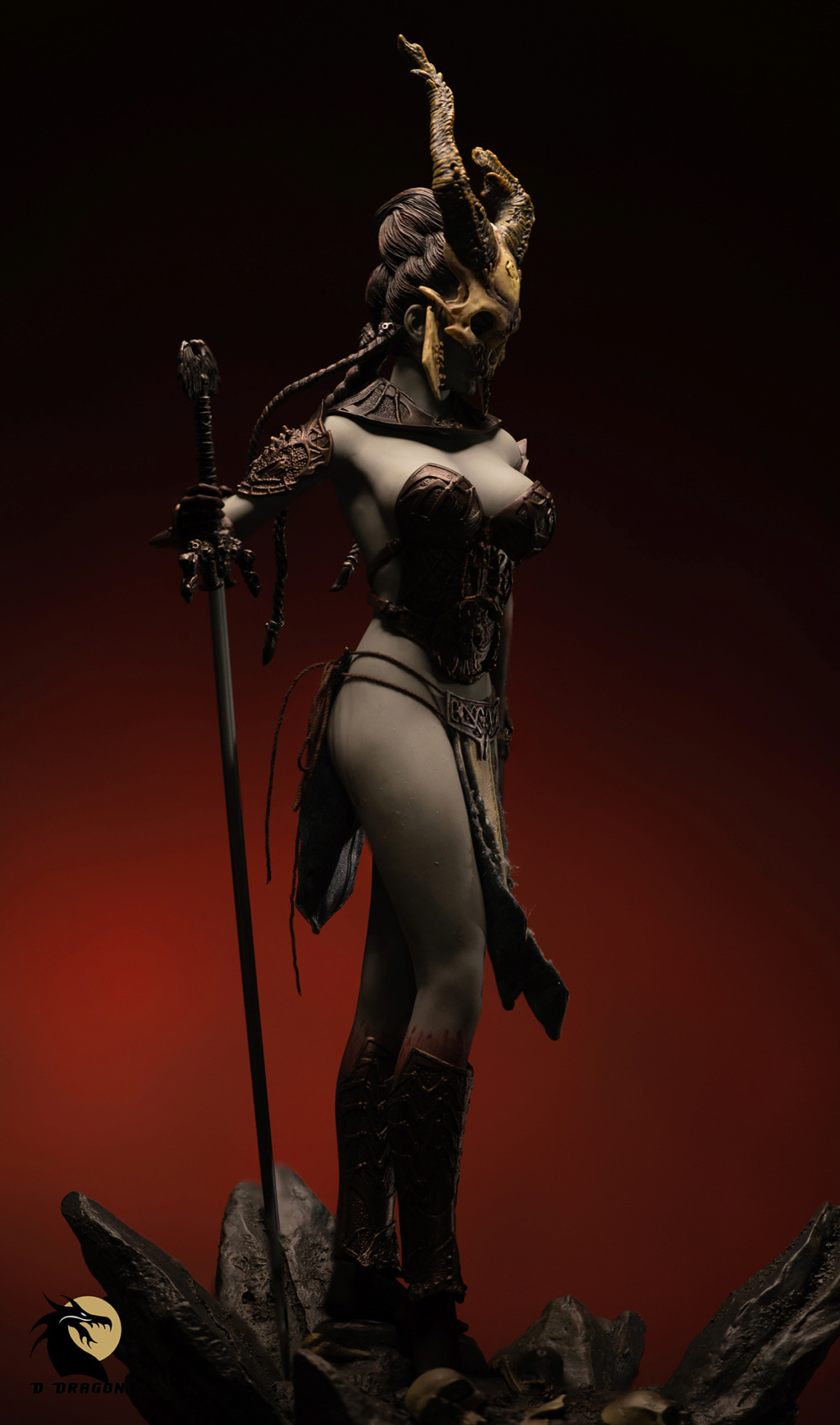 tbleague - NEW PRODUCT: TBLeague & Sideshow: 1/6 Court of the Dead - Valkyrie Cole / Kier movable doll (PL2019-141) Kier_710