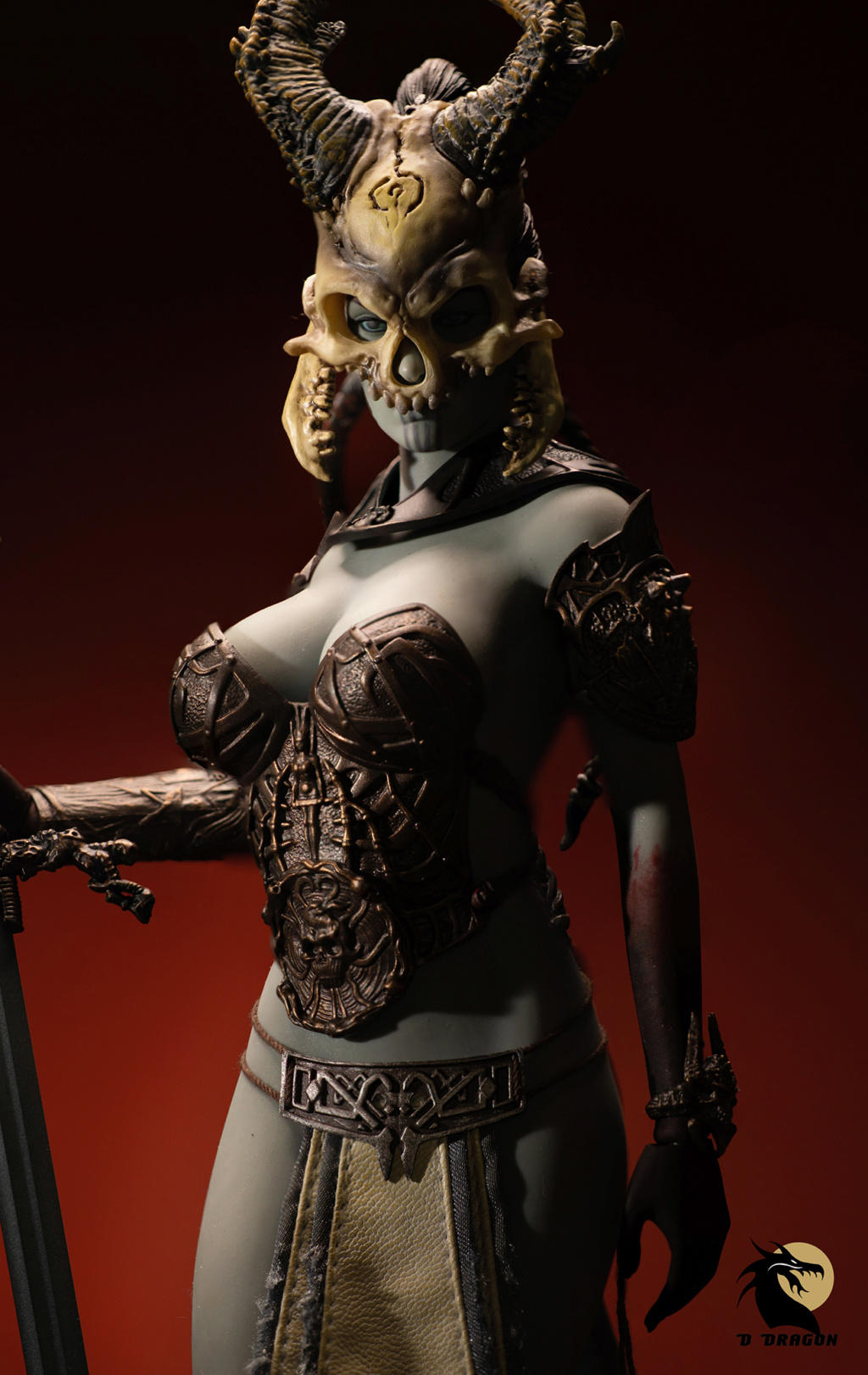 tbleague - NEW PRODUCT: TBLeague & Sideshow: 1/6 Court of the Dead - Valkyrie Cole / Kier movable doll (PL2019-141) Kier_811