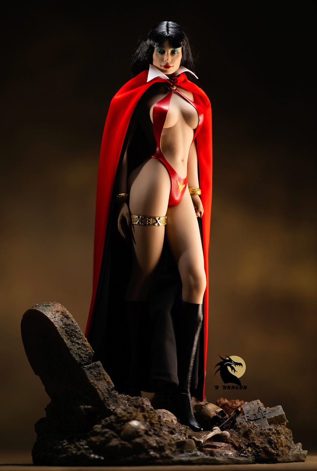fantasy - NEW PRODUCT: TBLeague: 1/6 bloodsucking red face - Vampirella 50th Anniversary Edition (#PL2019-152) Tbl_va10
