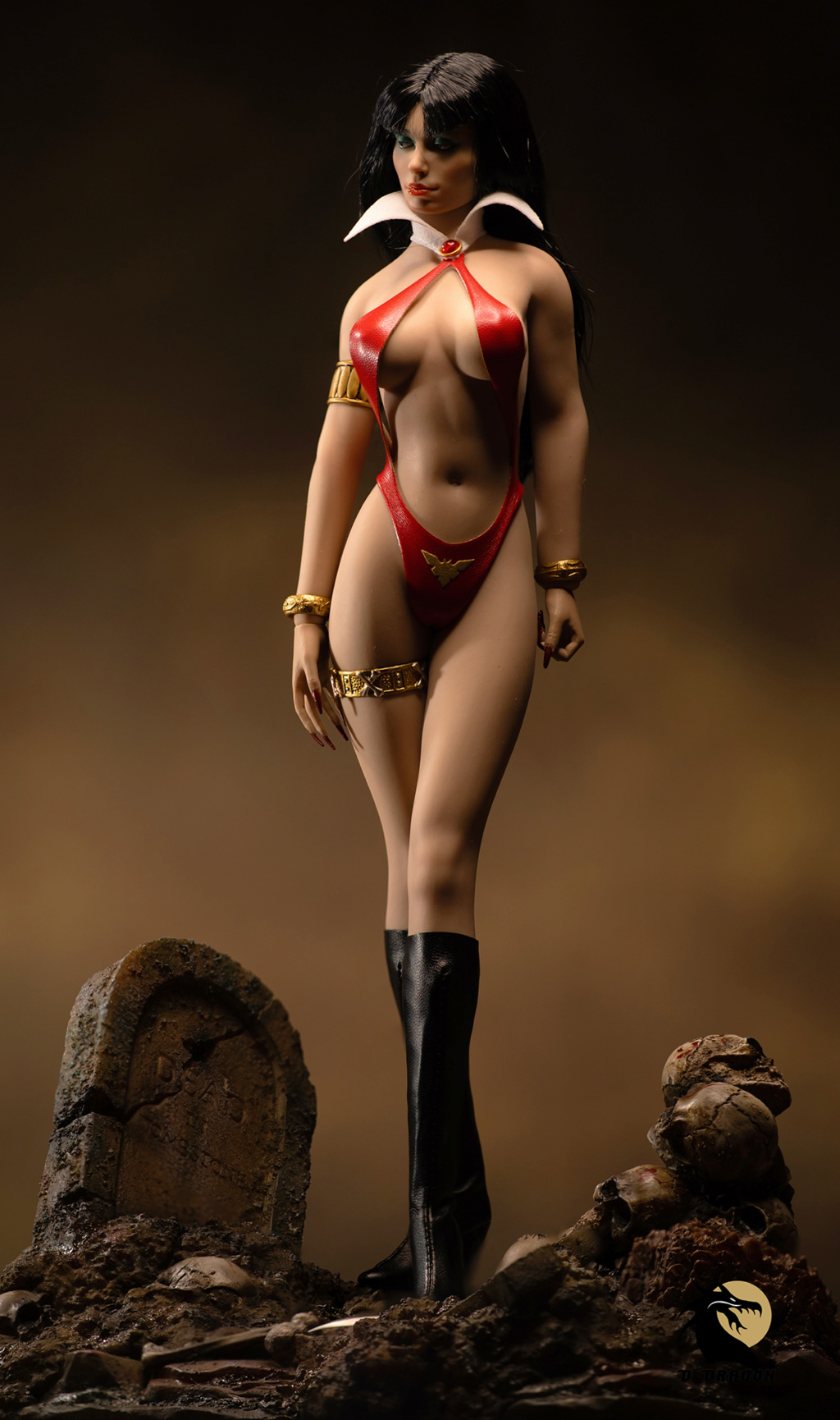 fantasy - NEW PRODUCT: TBLeague: 1/6 bloodsucking red face - Vampirella 50th Anniversary Edition (#PL2019-152) Tbl_va11