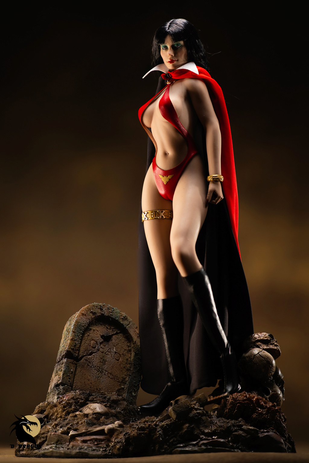 fantasy - NEW PRODUCT: TBLeague: 1/6 bloodsucking red face - Vampirella 50th Anniversary Edition (#PL2019-152) Tbl_va12